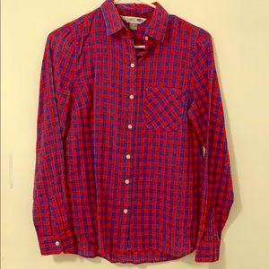 Long Sleeve Checkered Classic Shirt